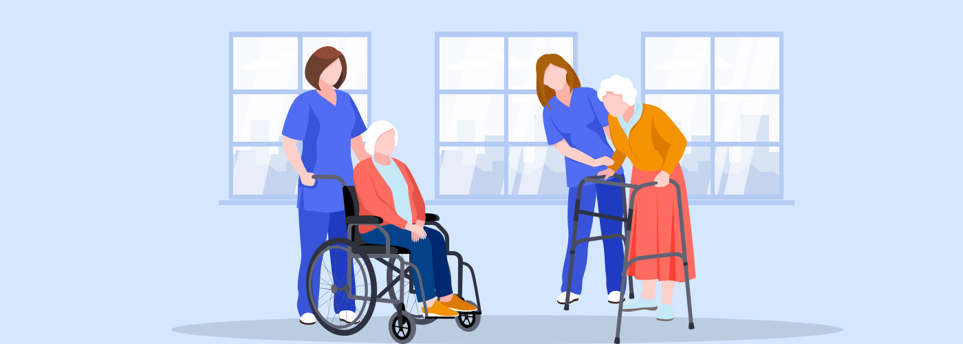Home care services for seniors.